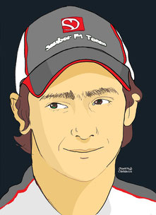 Esteban Gutierrez by Muneta & Cerracín