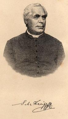 Pfr. Sebastion Kneipp  (1821-1897)