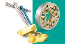 Gewindewirbelwerkzeuge / Whirling