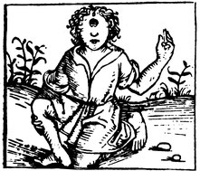 Fabelwesen aus Schedels Weltchronik, 1493