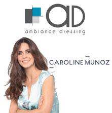 Caroline Munoz, tournage Ambiance Dressing revendeur