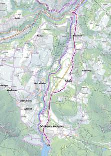 Vom Königssee zum Bahnhof Berchtesgaden