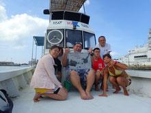石垣島でのんびりダイビング「黒島へ」