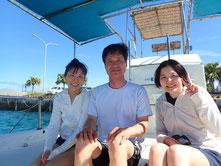 石垣島でのんびりダイビング「ボートの進路を西に」
