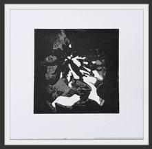 Radierung, Aquatinta, aquaforte, Druckgrafik, Grafik, Abstraktion, Pflanzen Abstrakt, Natur, Pflanzen, modern, Schwarze Kunst, Kupferstich, Druck, Print, Printmaking, Kunst, Art,  modern
