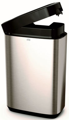 Tork Abfallbehälter 50l für B1 System - Edelstahl
