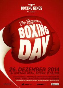 www.boxringzuerichsee.ch boxt am 26.12.2014, Kursaal Bern