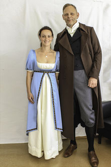Wilhelm von Humboldt, Caroline von Dacheröden, Auleben, 1200-Jahr-Feier, Kostüm, Leikos, Maßanfertigung