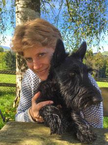 Bettina mit Finnlay