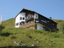 Das Spitzsteinhaus auf 1.252 m Höhe