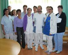 Das Hygieneteam im KH Tamsweg