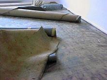 Teppich entfernen und entsorgen
