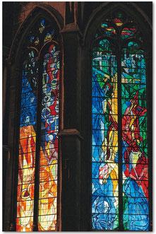Cathédrale de Metz, vitraux de Jacques Villon