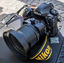 Praxistest: Erfahrungen mit der NIKON D850 mit PC-E NIKKOR 24 mm 1:3,5D ED. Foto: Klaus Schoerner