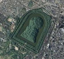 仁徳天皇陵(大仙陵古墳)大阪府堺市堺区大仙町