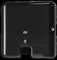 Tork Elevation Handtuchspender Interfold Mini für H2 System - schwarz