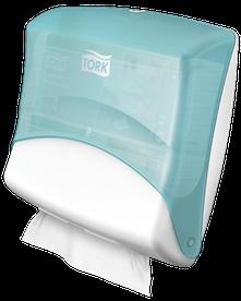 Tork Performance Einzeltuchspender für W4 System - blau