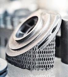 Beispiel: SLM Metall Druck