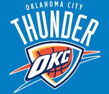 логотип команды NBA Оклахома Сити Тандерс