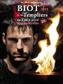 BIOT ET LES TEMPLIERS 2014. Temple de Paris