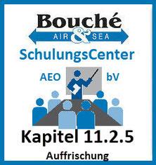Logo AEO & bV SchulungsCenter | Kapitel 11.2.5 Auffrischung