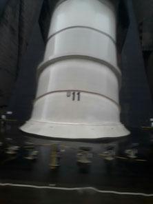 C'est l'un des tubes qui transporte 65000 Mètres Cube d'eau hors du barrage.