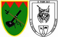 Wappen 5./362 und 2./361