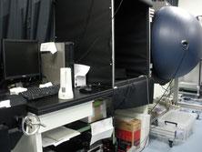 1m積分球と配光特性測定装置