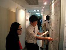 タイでの国際学会にてポスターセッション(2)
