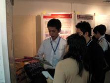 タイでの国際学会にてポスターセッション(1)