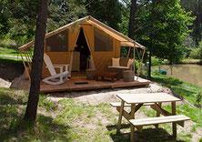camping dordogne glamping