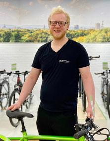 Timo Ulbrich, Azubi Zweiradmechatroniker