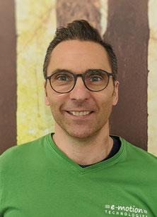 Felix, Geschäftsleitung in der e-motion e-Bike Welt Westhausen