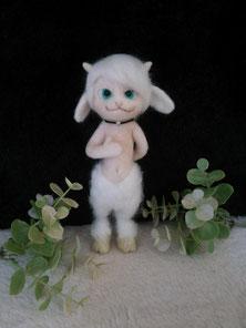 羊毛フェルト 守護フォーン