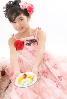 7-D2 ローズピンクドレス