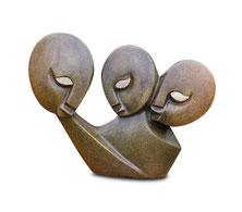 Shona-Art-Skulptur  Serpentin Naturstein© copyright neuerraum