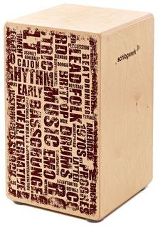 Cajon X-One Style - Birkenholzkorpus / Birke schlagfläche