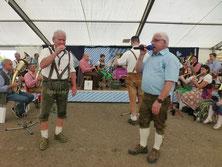 Auch unsere Gesangsduos Norbert & Hans sowie Melanie & Thomas waren sehr gut bei Stimme.