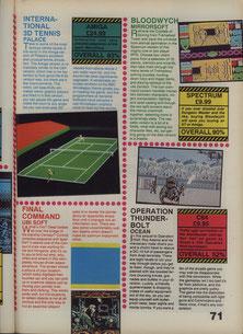 International 3D Tennis