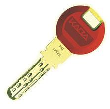 KABA Penta Schlüssel kopieren