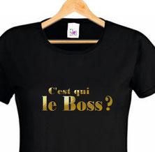 teeshirt pour une copine