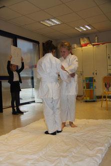 présentation du judo - journée des talents - décembre 2017