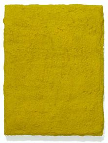 Matthieu van Riel. Schilderij. Zonder titel 24,5x18,5x3cm cement en pigment op canvas 2006