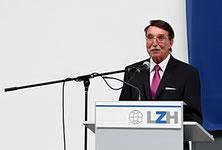 Dieter Pichler bei der Eröffnungsrede