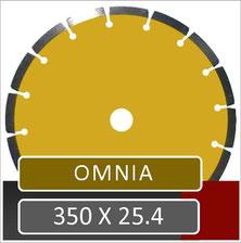 omnia slijpschijf voor universeel gebruik met een benzine doorslijper van het merk husqvarna dolmar en makita met een opname van 25.4 mm