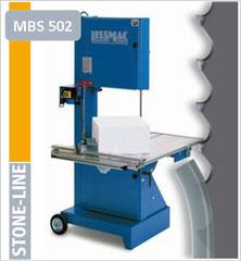 prodito stone line lintzaag of bandzaag voor lissmac MBS502 lintzaagmachine / bandzaagmachine voor het verzagen van steen poroton en snelbouw