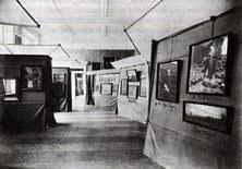 Blick in die Ausstellung in der Kunsthalle