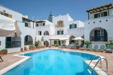 Stay overnight Naxos Chora - Spiros Hotel
