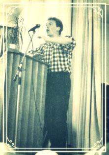 Erste Predigt bei Abi-Abschluss 1985 in Rottweil: die Wuppedi-Wuppeda-Predigt vom Seesturm