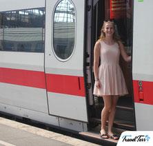 Internationale trein naar Berlijn